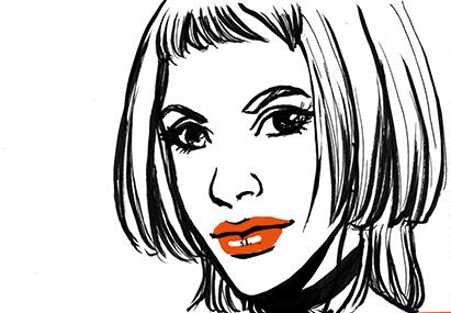 portrait-lily